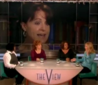 Christine Durst on The View