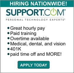 Support.com is hiring now!