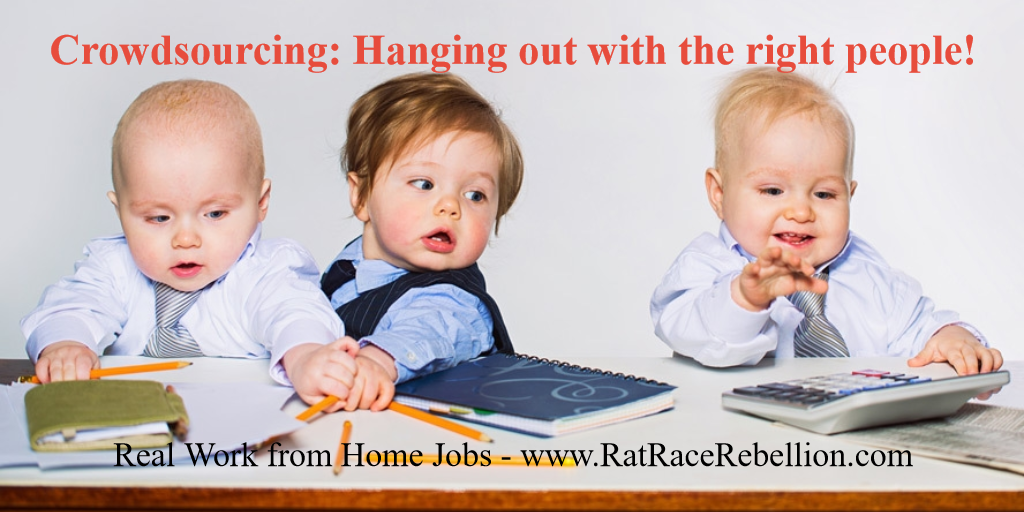 Work from Home Crowdsourcing Gigs