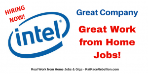 Work from Home for Intel - NOW HIRING