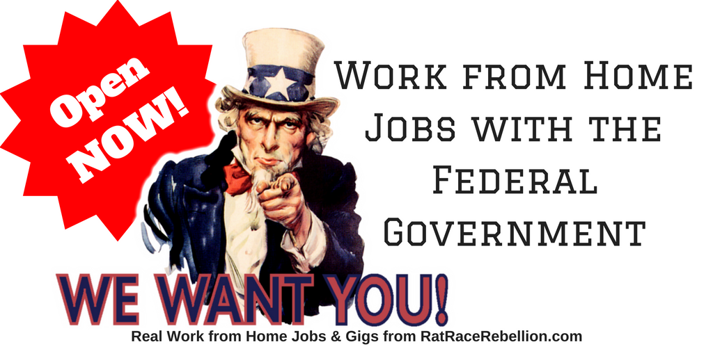 Real Work from Home Jobs & Gigs from RatRaceRebellion.com