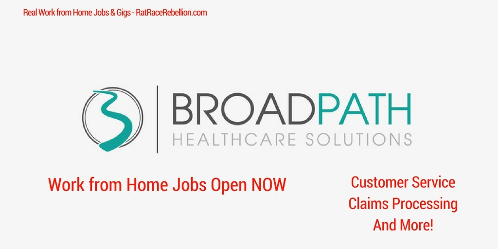 Work from Home Jobs Open NOW (1)