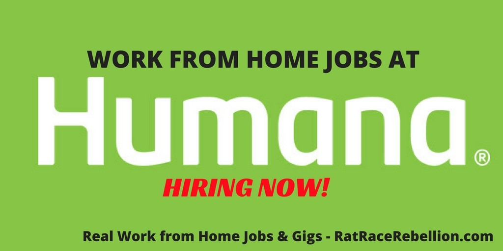 Work from Home Jobs at Humana (1)