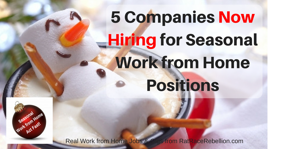 Williams-Sonoma Is Hiring Work-From-Home Holiday Positions