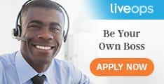 Work from home with Liveops