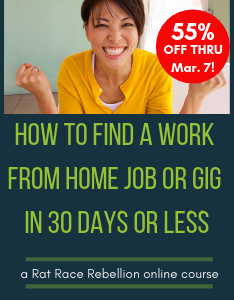 How to Find a Work from Home Job or Gig in 30 Days or Less