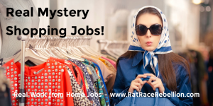 Real Mystery Shopping Jobs
