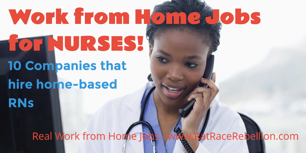 Work From Home Jobs For Nurses 10 Companies Hiring Rns Work