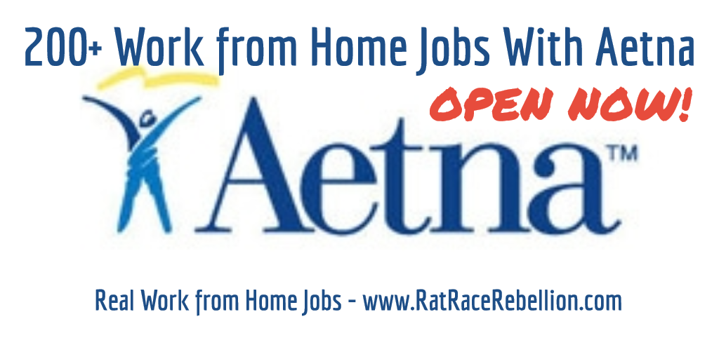 200+ Work from Home Jobs with Aetna