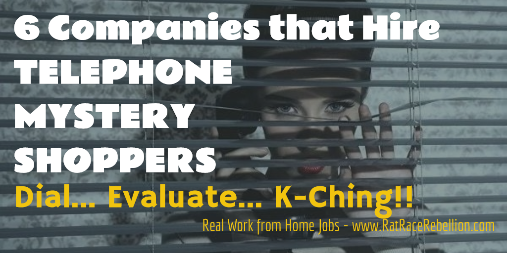 6 Companies That Hire Telephone Mystery Shoppers