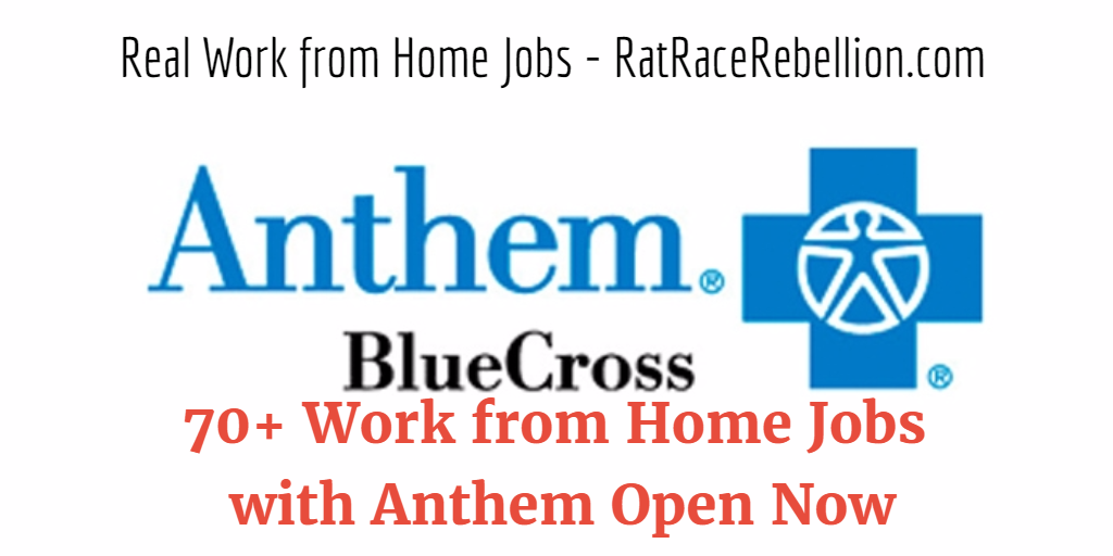 70+ Work from Home Jobs with Anthem Open Now - Work From ...