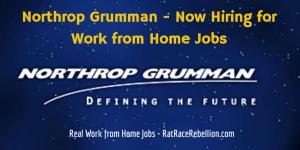 Northrop Grumman - Now Hiring for Work from Home Jobs