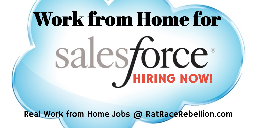 Work from Home for Salesforce - HIRING NOW