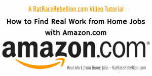 4 Ways to Find a Work from Home Job with Amazon.com - RatRaceRebellion.com