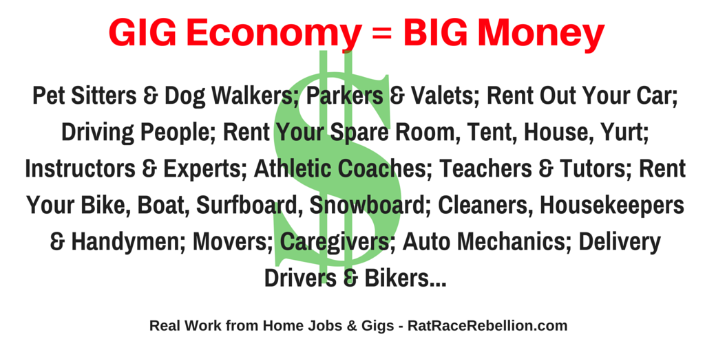 GIG Economy = BIG Money