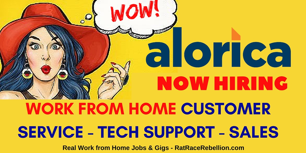 Work from Home for Alorica