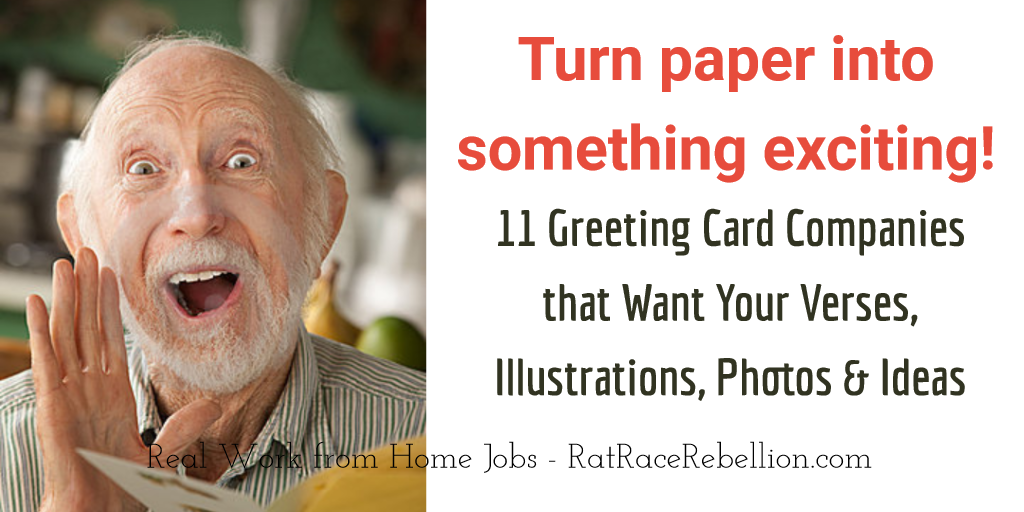 Greeting Card Companies Want Your Verses, Illustrations, Photos & Ideas