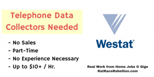 Telephone Data Collectors Needed