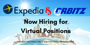 Expedia / Orbitz Now Hiring for Virtual Positions