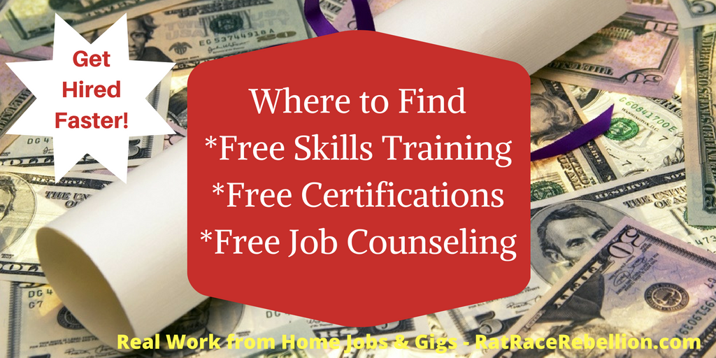 Get Hired Faster Where To Get Free Skills Training Certifications
