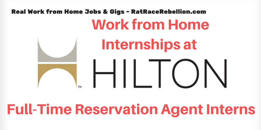 Reservation jobs from home