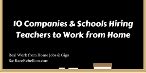 10 Companies & Schools Hiring Teachers to Work from Home