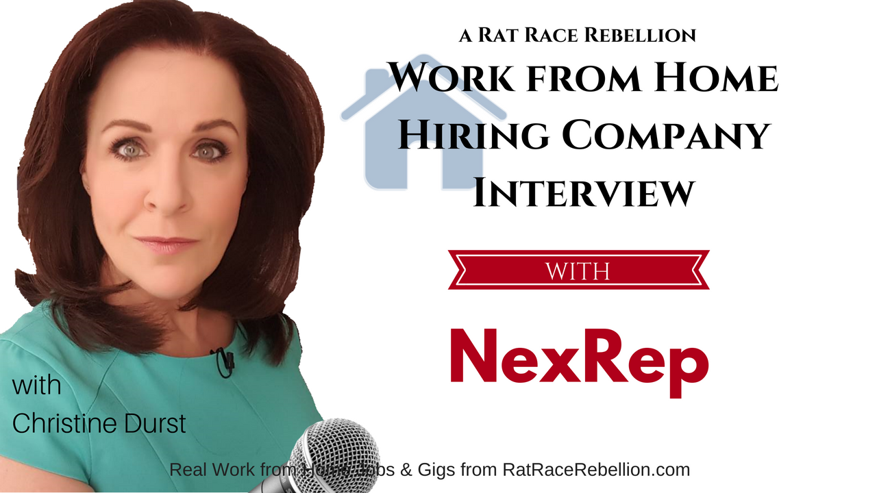Make $15 - $25/hr Working from Home for NexRep