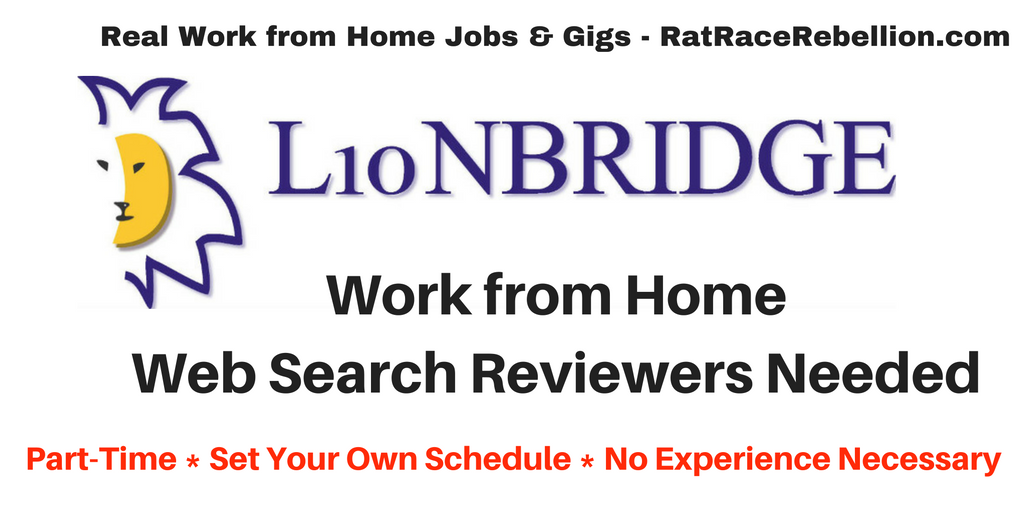 Work from Home Web Search Reviewers Needed - Work From Home
