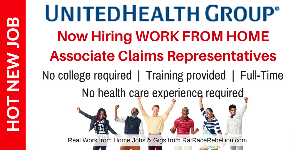 Exciting New Work from Home Opportunity with UnitedHealth ...