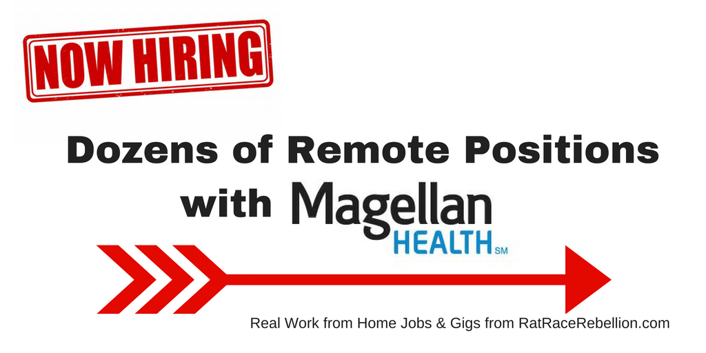 Magellan Health Now Hiring for Dozens of Remote Positions