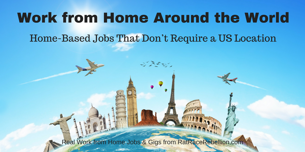 Jobs That Don't Require US Location