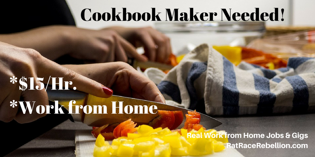 cookbook create archives real work from home jobs by rat race