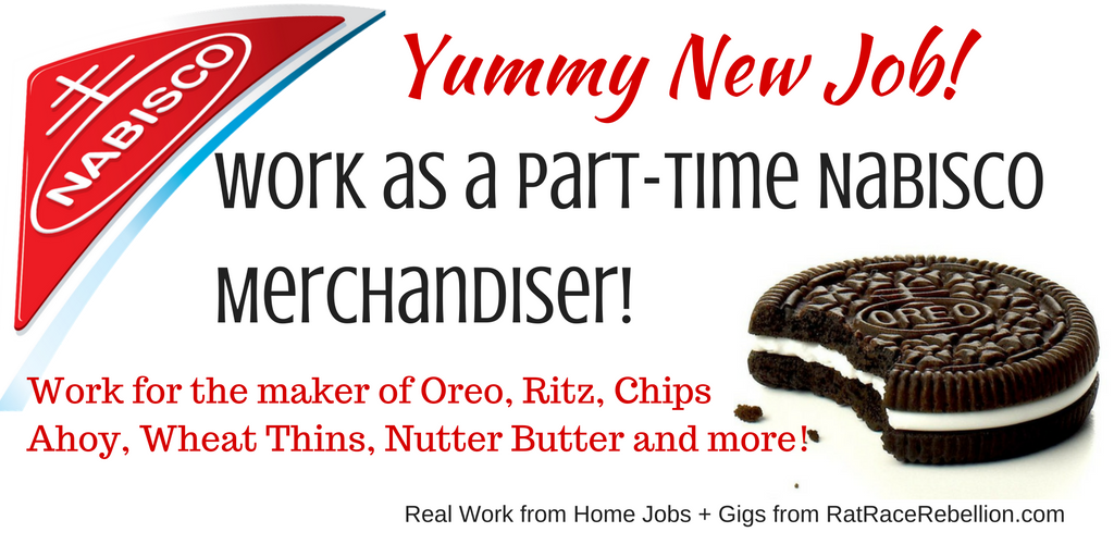 Work as a Part-Time Nabisco Merchandiser!