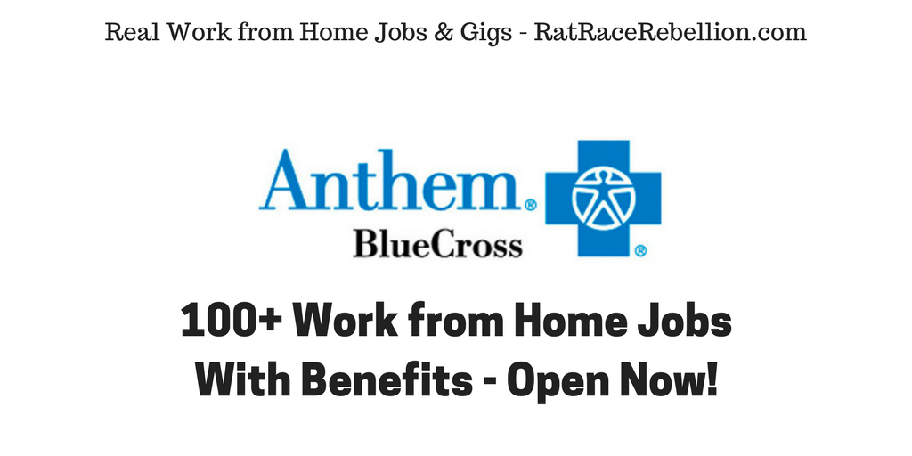 work from home jobs with health benefits 100 work from home jobs at anthem open now with 7081