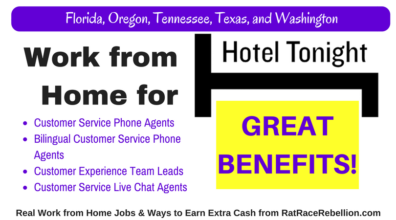Work from home hotel jobs