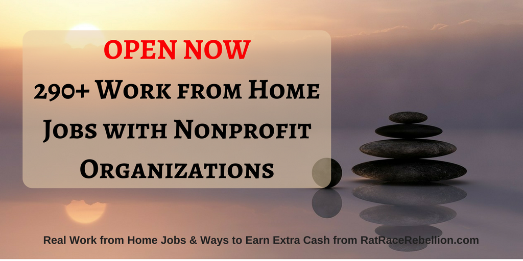 OPEN NOW290+ Work from Home Jobs with Nonprofit Organizations