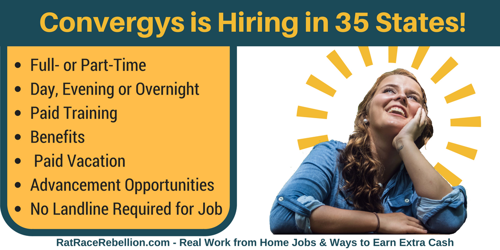 Convergys is hiring in 35 sates