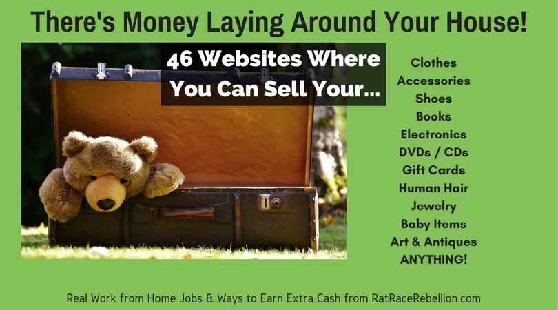 QUICK CASH - 46 Places to Sell Your Stuff (Anything ...