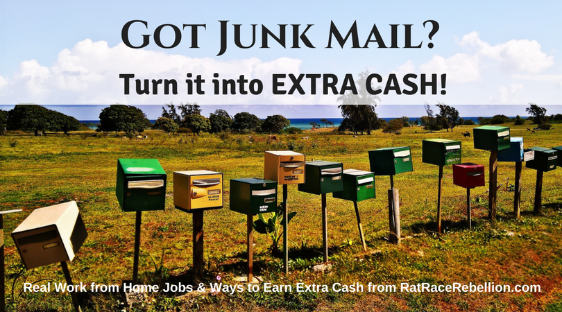 Got Junk Mail? Turn it into Extra Cash!