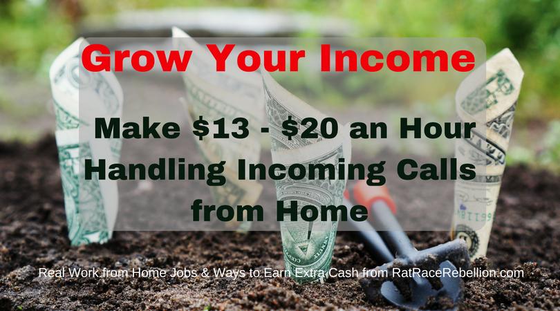 Make $13 – $20 an Hour Handling Incoming Calls