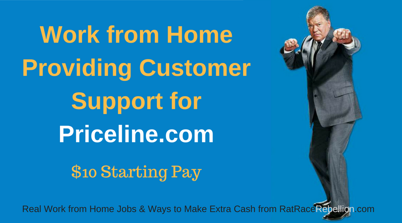 Work from Home Providing Customer Support for Priceline.com