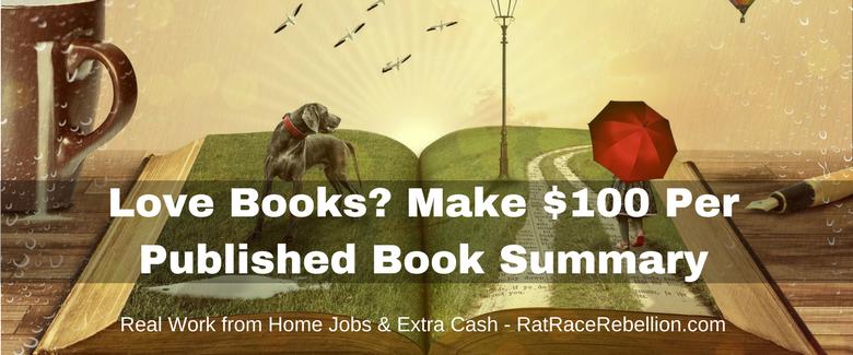 Love books? Make $100 Per Published Book Summary for Instaread
