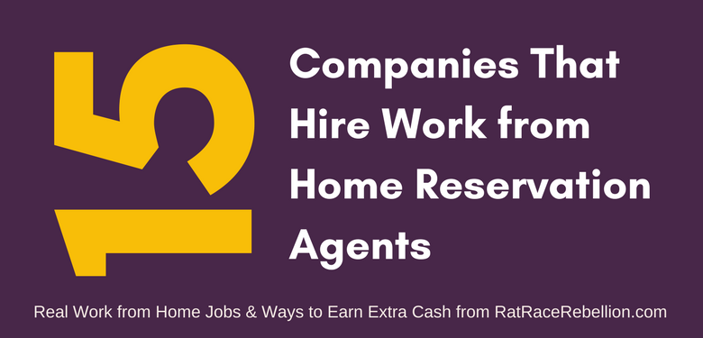 15 Companies That Hire Home-Based Reservation Agents