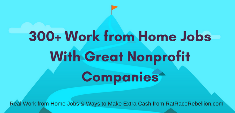 300+ Work from Home Jobs With Great Nonprofit Companies