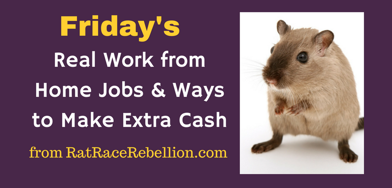 Friday Work from Home Jobs