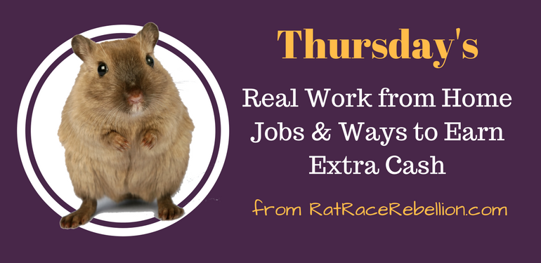 Thursday Work from Home Jobs