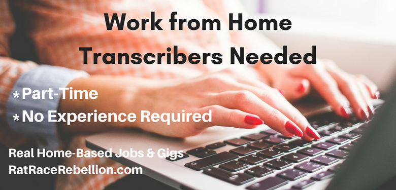 Work from Home Transcribers Needed at Lionbridge - Work From