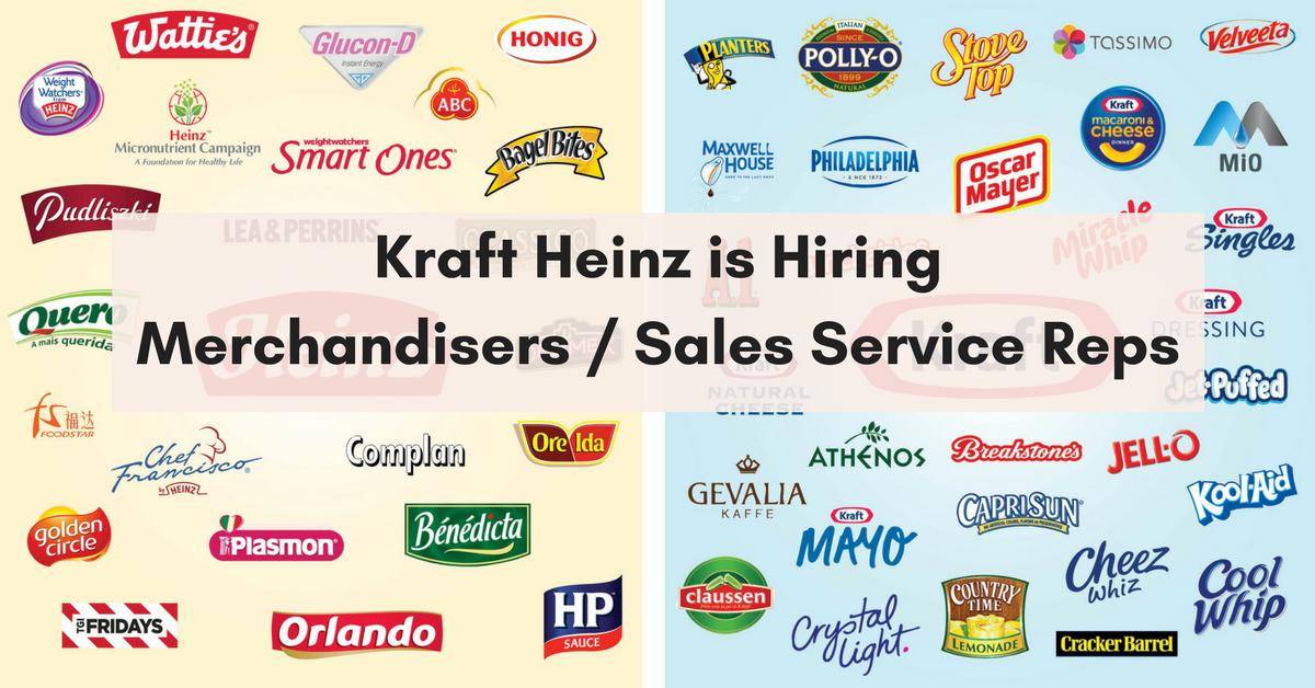 Kraft Food Service Jobs