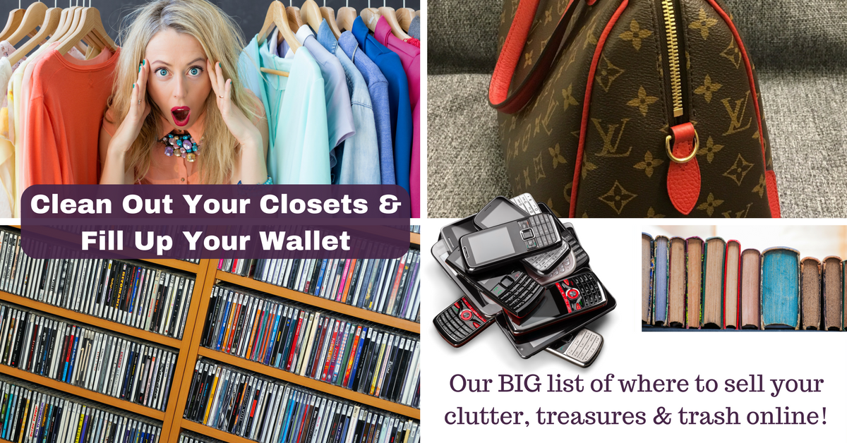 Clean out your closets fill up your wallet work from - Cleaning out your closet ...