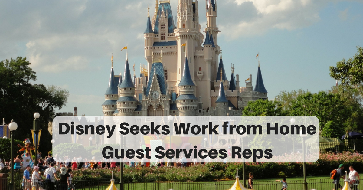 work for disney from home work from home for disney part time guest services 3225